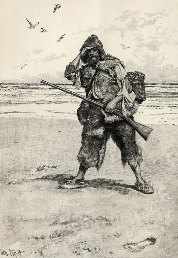 Характеристика Робинзона Крузо из романа «Жизнь и удивительные приключения морехода Робинзона Крузо»