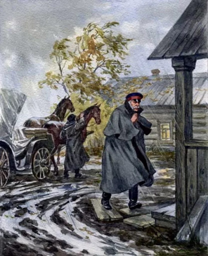 Характеристика Николая Алексеевича из рассказа «Тёмные аллеи»
